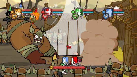 Castle Crashers Teased for PS4
