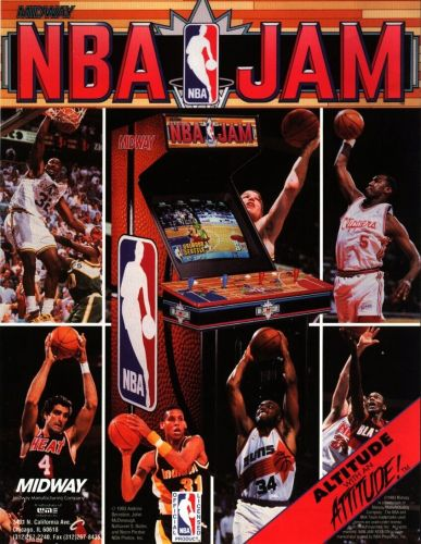 """He's on fire!"": How a club bouncer starred in the making of billion-dollar arcade hit NBA Jam"
