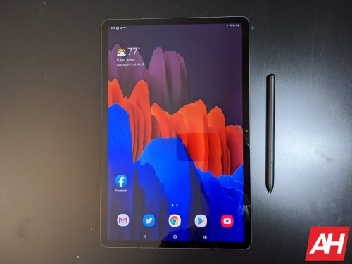 Galaxy Tab S7+ Supports 45W Charging, But You'll Have To Pay Extra For It