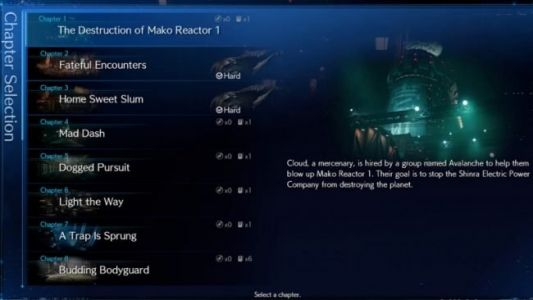 Final Fantasy VII Remake's New Game Plus Options Offer a Variety of Challenges