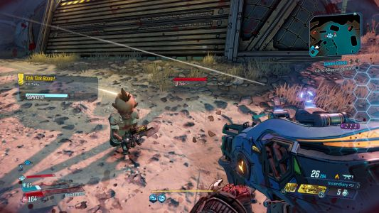 Borderlands has a problem with dwarfism and disability