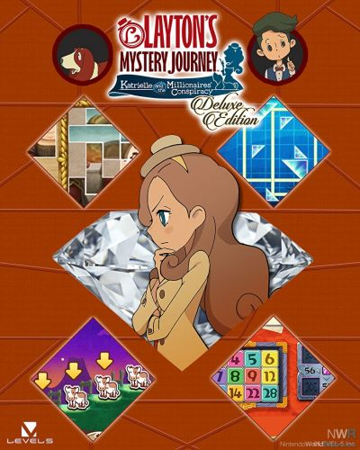 LAYTON'S MYSTERY JOURNEY: Katrielle and the Millionaires' Conspiracy - Deluxe Edition Hands-on Preview