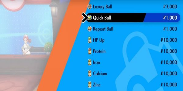 Pokemon Sword and Shield: Where to Buy Quick Balls   Game Rant
