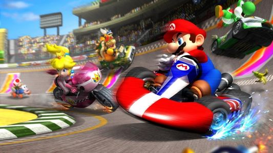 Mario Kart Tour is adding landscape support with a new control scheme