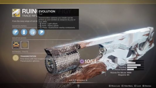 Destiny 2: Season of Arrivals - How to get the Ruinous Effigy Exotic Trace Rifle and Catalyst