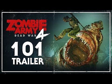 Zombie Army 4: Dead War Trailer Uncovers Enemies, Perks, and Zombie Tanks