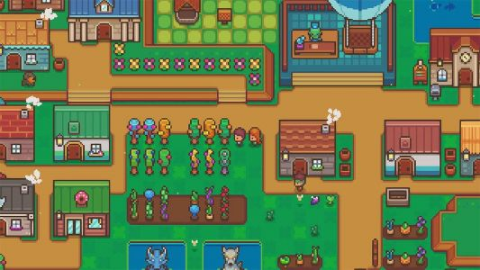 Littlewood, a Stardew Valley-like 'peaceful and relaxing RPG,' is out on Switch