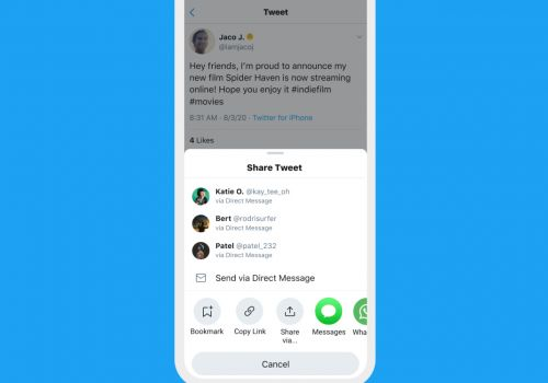 Twitter For Android Gets A Brand New Share Menu