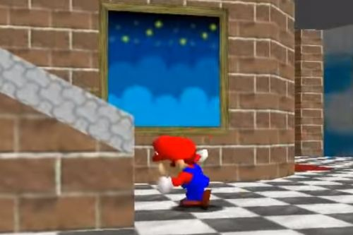 """Nintendo hid a reference to Zelda: Ocarina of Time's """"Song of Storms"""" in Super Mario 64, and it's in plain sight"""