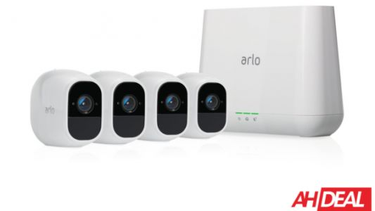 Get Four Arlo Pro 2 Security Cameras For Just $399 Today