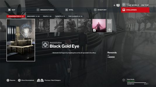 Hitman 3 Dubai Black Gold Eye Challenge Guide