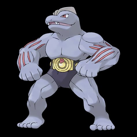 Pokémon 067 Machoke