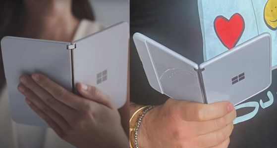 Image Leaks Give Another Look At The Surface Duo For AT&T
