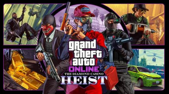 GTA Online The Diamond Casino Heist Now Available