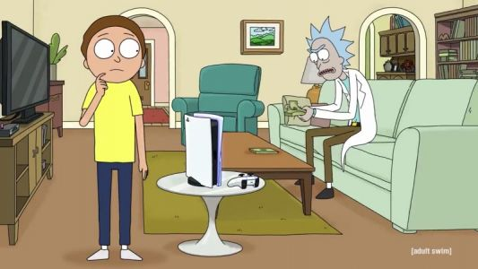 Rick And Morty Want You To Buy A PS5