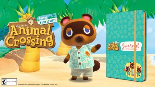 Target is throwing in a journal with Animal Crossing: New Horizons