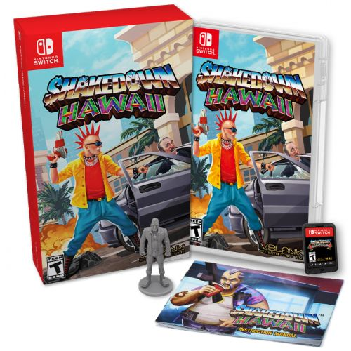 Switch Physical Edition of Shakedown: Hawaii on Sale September 25