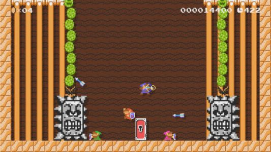 Super Mario Maker 2 Update Brings The Master Sword to the Game
