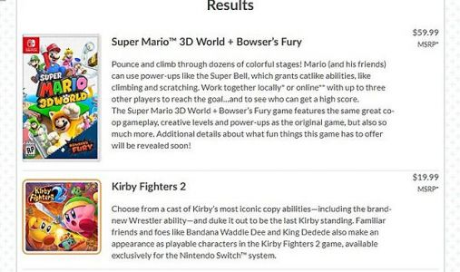 RUMOR - Kirby Fighters 2 may be coming to Nintendo Switch