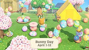Animal Crossing: New Horizons Bunny Day Guide