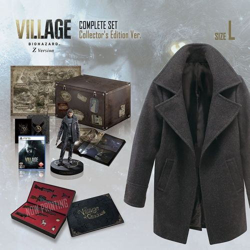 You can dress like Chris from Resident Evil Village with this expensive as hell collector's edition