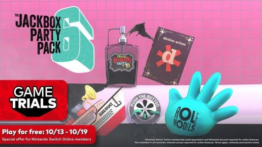 October's Nintendo Switch Online Game Trials offers Jackbox Party Pack 6