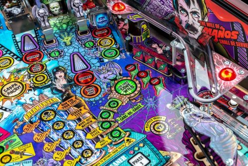 Elvira's House of Horrors welcomes the Mistress of the Dark back to pinball