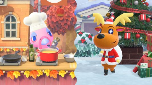 Animal Crossing: New Horizons' Winter update is now available