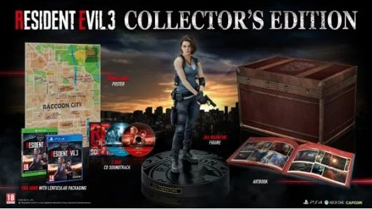 EU Resident Evil 3 Collector's Edition Pre-Order Already Sold Out, Has More Goodies Than NA Version