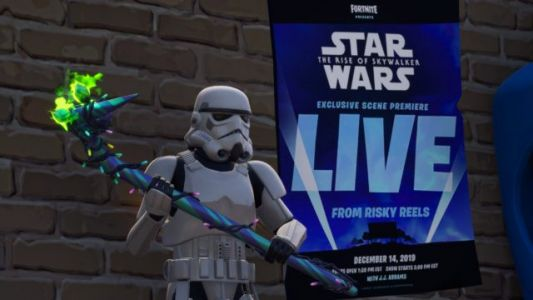 Scene from Star Wars: The Rise of Skywalker to Appear in Fortnite