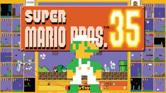 You Can Play As Luigi in Super Mario Bros. 35