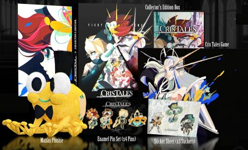 Cris Tales collector's edition includes art book and cuddly Matias