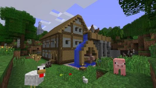 Minecraft Bedrock Version Headed to PS4 Tomorrow, Adds Cross-Play