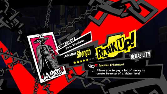 Persona 5 Royal Strength Confidant Guide