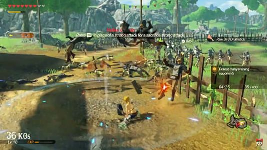 Hyrule Warriors: Age of Calamity Drops Weapon Durability