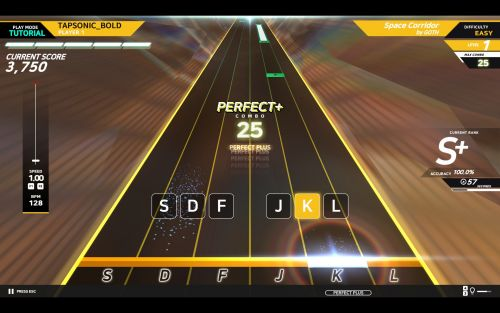 Tapsonic Bold, a rhythm game from the makers of DJMax Respect, is worth a look