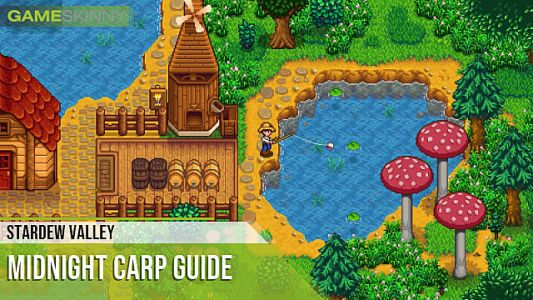 Stardew Valley: How to Catch Midnight Carp