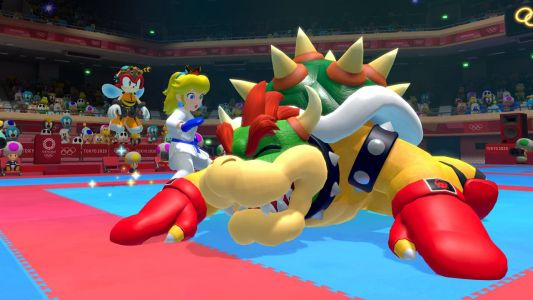 In Mario & Sonic at the 2020 Olympics, Peach can finally get revenge for all those kidnappings