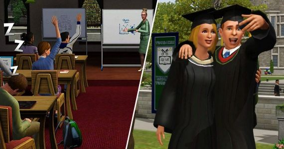 The Sims 4: 5 Things We Want To See From The Sims 3 University