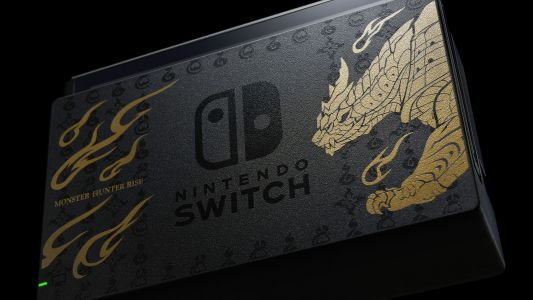 Limited Edition Monster Hunter Rise Switch and Pro Controller Announced