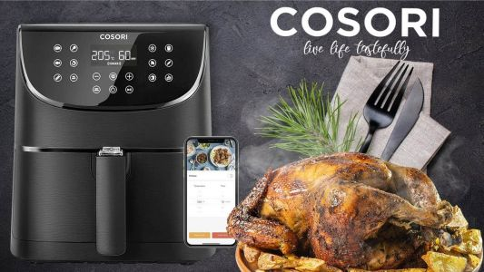 The COSORI Smart WiFi Air Fryer Works With Alexa & Google Assistant, For $84