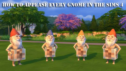 The Sims 4: How to Appease Every Gnome