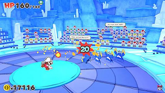 """Paper Mario: The Origami King producer believes it's a """"necessity"""" to change the battle system with each installment"""