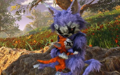 Biomutant is almost here, new trailer shows off its striking fantasy world