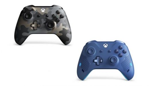 Night Ops Camo and Sport Blue Special Edition Xbox Controllers announced