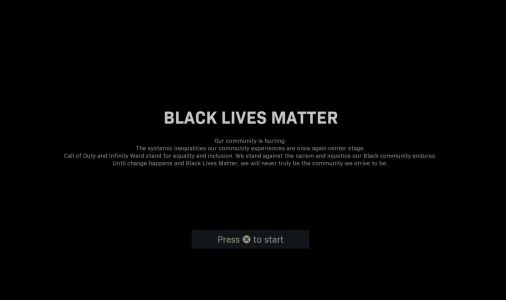 Call of Duty: Warzone and Modern Warfare loading screens replaced with Black Lives Matter splash