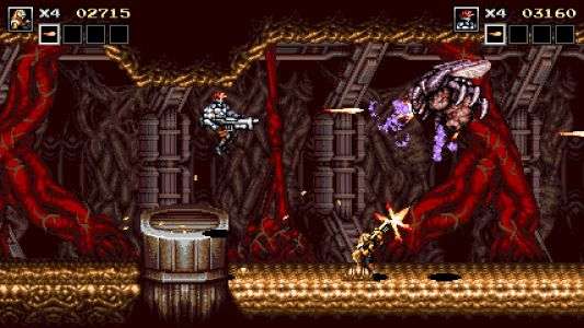 Blazing Chrome - Retro Contra-Like Shooter is Now Available
