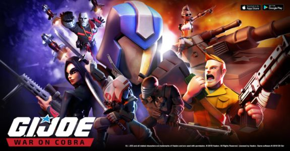 G.I. Joe: War On Cobra is the latest collection-based strategy game to arrive on the Play Store