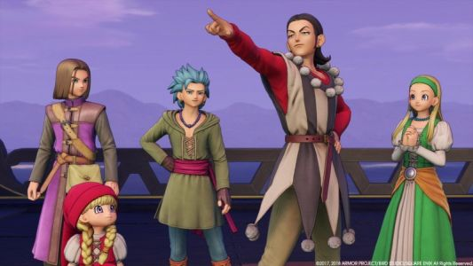 Dragon Quest XI Switch Gets New Story Details