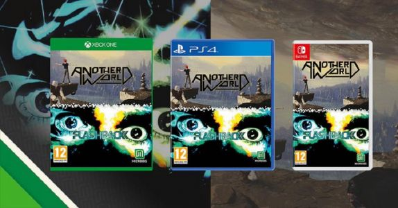 Another World and Flashback double pack announced for PS4, Xbox One and Nintendo Switch
